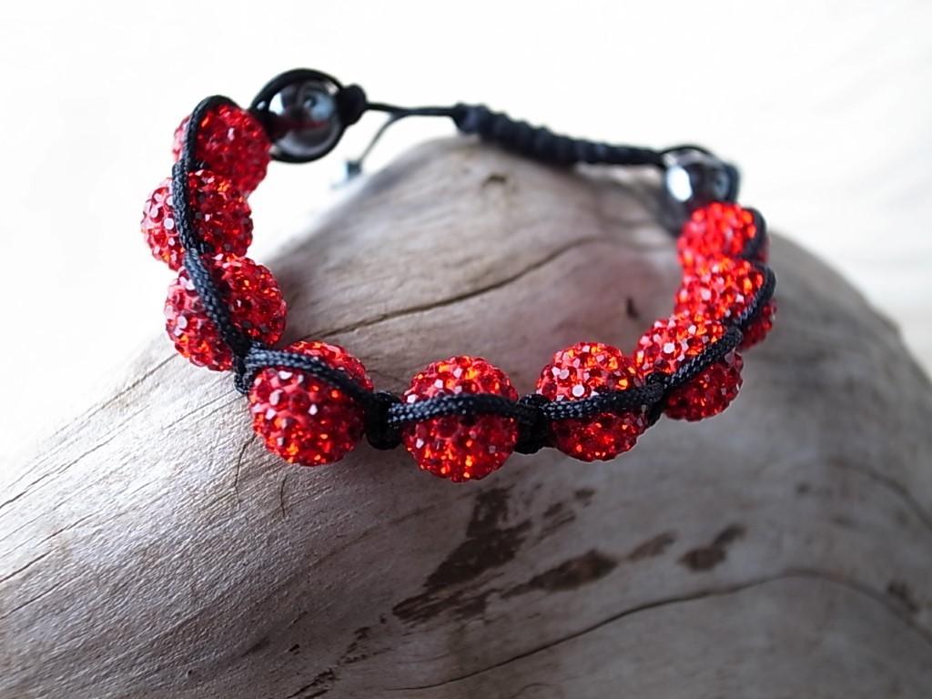 Moon-Bracelet 2 red