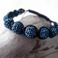 Moon-Bracelet dark blue