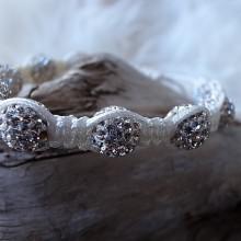 Moon-Bracelet white